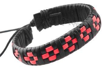 bransoletka BLACK RED