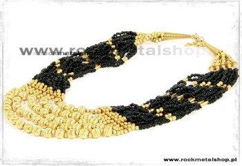 naszyjnik GOLD-BLACK