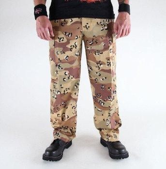 spodnie bojówki US RANGER HOSE desert