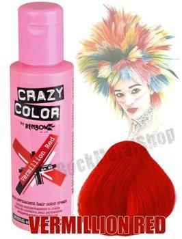 toner do włosów CRAZY COLOR - VERMILLION RED [040]