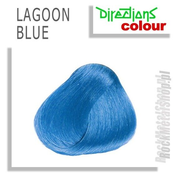 TONER DO WŁOSÓW DIRECTIONS - LAGOON BLUE