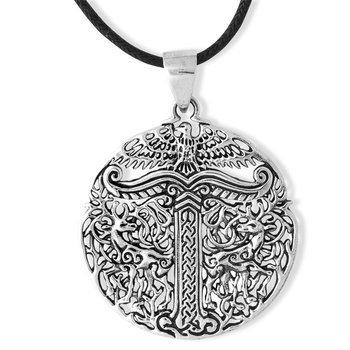 wisior IRMINSUL, srebro 925