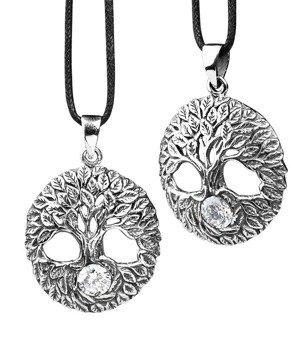 wisior TREE OF LIFE, srebro 925 cyrkonia