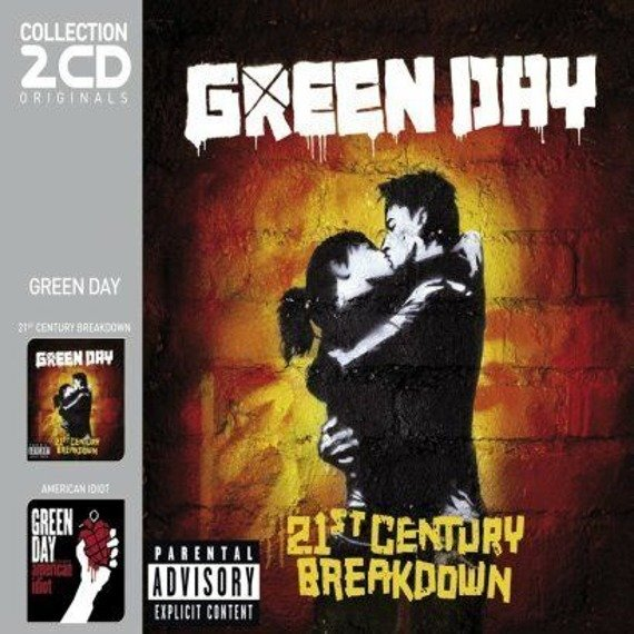 GREEN DAY : 21st CENTURY BREAKDOWN/AMERICAL IDIOT (2CD)